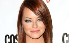 Full View and Download Emma Stone Close Up Wallpaper