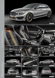 Mercedes CLA Shooting Brake - Cars and motor Mercedes Maybach, Mercedes Benz Amg, Shooting Break, Vinyl Wrap Car, Merc Benz, Brakes Car, Wagon Cars, Daimler Ag, Super Bikes