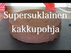 Kakkumonsteri: Voikakkupohja Piece Of Cakes, Pretty Cakes, Fondant, Food And Drink, Pudding, Candy, Sweet, Desserts, Recipes