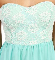 Gali- Mint Prom Dress
