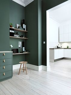 Trend Watch: Grüne Wände in der Wohnung
