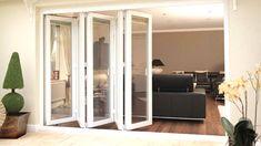 BiFold Doors Melbourne Internal Glazed Doors, Kids Furniture, Woodworking Furniture, Furniture Plans, Office Furniture, Closet Doors, Garage Doors, Entry Doors, Door Design Interior