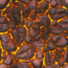 Lava tile map study