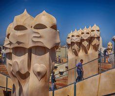 Follow us on Insta! @ispanyoldefteri #spain #Barcelona #travelblog #sagradafamilia #gaudi #motorbiketrip #travelphoto Gaudi, Us Travel, Travel Photos, Mount Rushmore, Barcelona, Spain, Lion Sculpture, Statue, Mountains