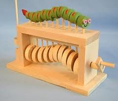 Caterpillar. This is the one my students all have a go at making. Not as simple as it looks.