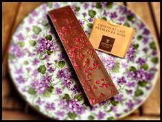 El Alma del Vino.: Gastronomía : Bovetti Artisan Chocolatier - Chocolat Lait Petales de Rose.