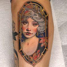 Tattoo artwork by Hannah Flowers - Best_tattoos Future Tattoos, Love Tattoos, Beautiful Tattoos, Body Art Tattoos, New Tattoos, Girl Tattoos, Portrait Tattoos, Watch Tattoos, Tattoos Skull