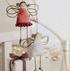 Mimin Dolls: Anjo com cordas