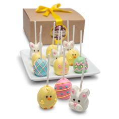 Happy Easter Truffle Cake Stix Gift Box   Buy at All About Gifts & Baskets (http://www.aagiftsandbaskets.com/happy_easter_truffle_cake_stix_gift_box.html)