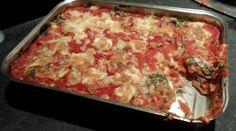 Lasagne met zoete prei, tomaat, ricotta en spinazie ·  LINDA.