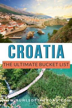 Travel Croatia - A Beautiful Mediterranean Vacation - croatia itinerary, croatia honeymoon itinerary, plitvice to split, plitvice lakes winter, plitvice - Best Places In Europe, Cool Places To Visit, Places To Go, Croatia Itinerary, Croatia Travel, Italy Travel, Europe Travel Guide, Europe Destinations, Travel Guides