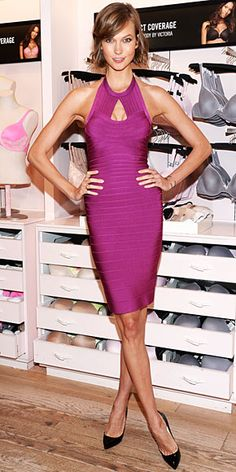 Karlie Kloss at the Victoria's Secret Celebrates Body By Victoria event at the brands Soho store in New York City, July 30, 2013