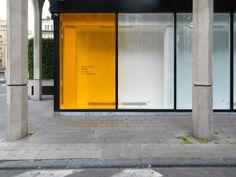 scenes of unimportance Space Interiors, Shop Interiors, Colorful Interiors, Store Design, House Design, Graphic Design, Shop Facade, Window Graphics, Facades