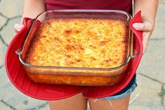 Corn Casserole - this is just a little different than the one I make.  This has a little flour and sugar in it.