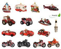 Christbaumkugeln Figuren Transport Weihnachtskugeln Weihnachtsbaumschmuck Deko | eBay Christen, Ebay, Figurines, Deco