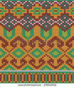 Knitted Tribal Pattern Texture design. Abstract Background.
