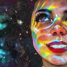 ideas love art drawing creativity pictures for 2020 Psychedelic Art, Ouvrages D'art, Wow Art, Art Girl, Painting & Drawing, Paper Drawing, Light Painting, Art Inspo, Amazing Art