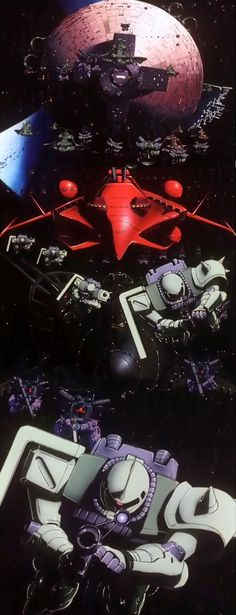 Delaz Fleet is about to drop a colony onto earth to start a 2nd One Year War - Mobile Suit Gundam 0083 Stardust Memory