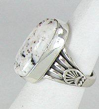Native American Navajo White Buffalo ring