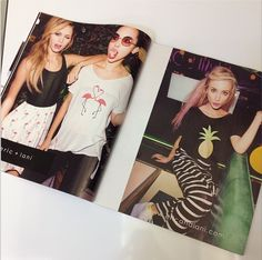 snap a pic of eric+lani when you spot us in NYLONMAG!
