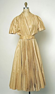 Dress  Jacques Fath  (French, 1912–1954)  Design House: House of Jacques Fath (French, founded 1937) Date: spring/summer 1951