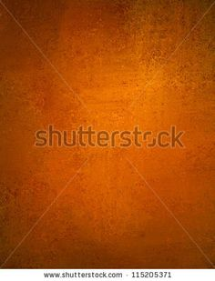 abstract orange background with old copper vintage grunge background texture wallpaper or paper, orange fall autumn or Thanksgiving background or web design template for halloween background layout - stock photo