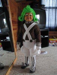 Coolest Toddler Oompa Loompa Halloween Costume