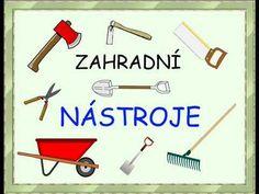 Zahradní nástroje - říkanky - pro děti - YouTube