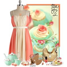 """""""Two for Tea"""" by exxpress on Polyvore"""