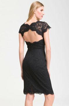 Back lace dress
