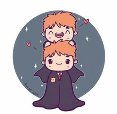 fred and george weasley weasley twins