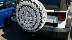 Crocheted tire cover in nc!