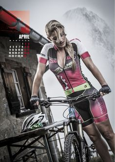 Sexy Cycling Calendar Swiss 2016