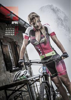 Sexy Cycling Calendar Swiss 2016
