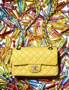 How else to describe a handbag that comes with its own candy filling?