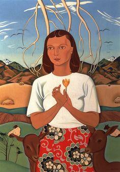 New Zealand painter Rita Angus (1908-1970)