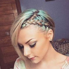 4-Braids for Short Hair 2017