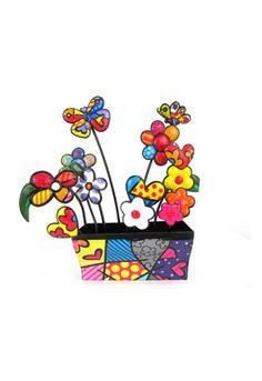 RECETANGLE VASE garden figurine $140