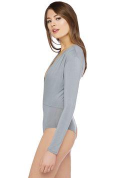 Bodysuit | Sexy Bodysuit | Plugning Neckline Bodysuit | Tops | Sexy Tops - AKIRA