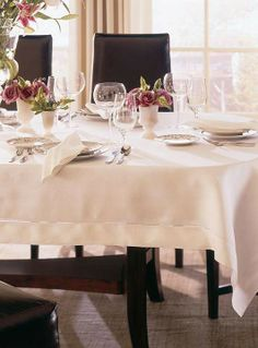 The SFERRA Classico Table Linens are heirloom-quality that are designed to last for generations.