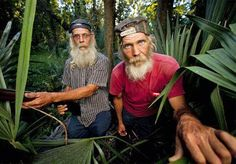 """Swamp People"" star Mitchell Guist, right, died at age 48 on May 14, 2012"