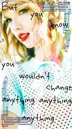 Welcome To New York lyric edit by Chloe Is a Swiftie