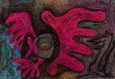 "Saatchi Art Artist Larisa Bartaseviciene; Drawing, ""Rat King tells how Goldfish conquer the world"" #art"