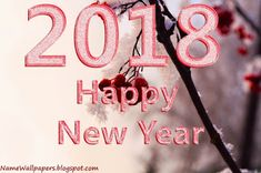 Happy New Year wallpaper 2018 Free Download. New Year Image 2018 #fashion #style #happybirthday