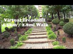 Virtual Treadmill Walk - Nan Tien Temple. 4.5km / 2.8mi @ 6kph / 3.7mph Berkeley, NSW Australia - YouTube