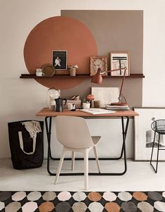 Home Office Design, Home Office Decor, Home Interior Design, House Design, Office Ideas, Office Setup, Vintage Office Decor, Home Office Bedroom, Office Designs