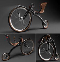 Leisure folding bike - 80s Inspired Cruiser - - folding bike - bici pieghevole