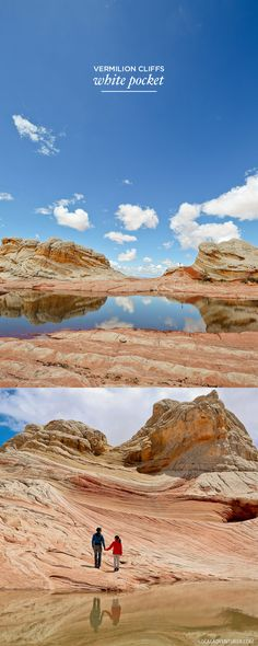 White Pocket Arizona is a hidden gem - Sandstone Formations in Vermilion Cliffs National Monument near the border of Utah and Arizona // localadventurer.com