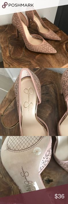 Never worn Jessica Simpson heels Nude, never worn Jessica Simpson heels.  Claudette. Jessica Simpson Shoes Heels