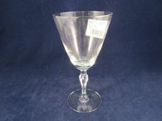 Fostoria Engagement Platinum Crystal Water Goblet New Clear Stemware | eBay